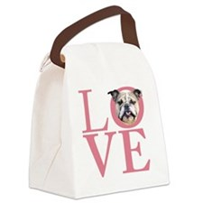 love2 Canvas Lunch Bag