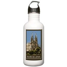 Sagrada Familia1Postca Water Bottle