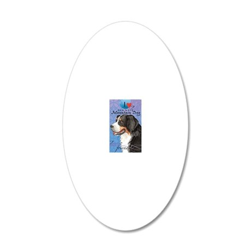 berner-iPad 20x12 Oval Wall Decal