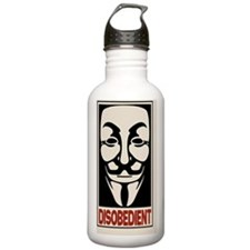 disobedient-PHN Water Bottle