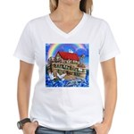 Noah's Ark Women's V-Neck T-Shirt