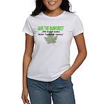 Save the Rainforest Women's T-Shirt