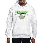 Save the Rainforest Hooded Sweatshirt