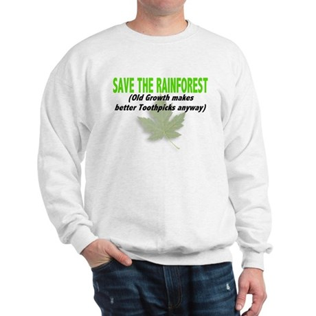 Save the Rainforest Sweatshirt