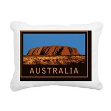Uluru1Postcard Rectangular Canvas Pillow