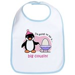 Big Cousin to be (Penguin) Bib