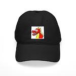 Happy Dragon Black Cap