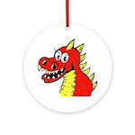 Happy Dragon Ornament (Round)