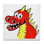 Happy Dragon Tile Coaster