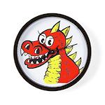 Happy Dragon Wall Clock