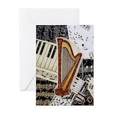 harp-nook-5432 Greeting Card