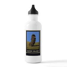 Easter Island1Postcard Water Bottle
