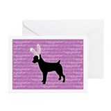 Rat Terrier Bunny Greeting Cards (Pk of 10)