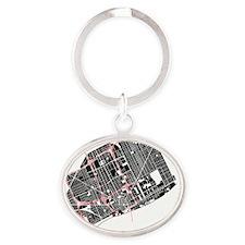 M-WH_DET-MI_BK-RD_1 Oval Keychain