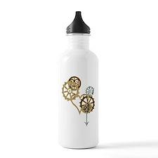 steampunk loveblk Water Bottle
