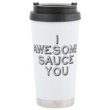 awesomesauce3 Ceramic Travel Mug