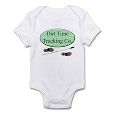 Dirt Time Tracking Company Infant Bodysuit