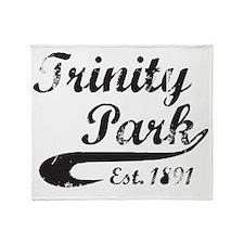 Trinity Park, Established 1891 Throw Blanket