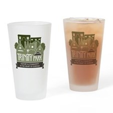 TPNA with Tag Line Logo Drinking Glass