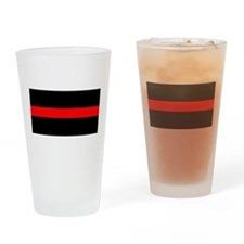 Firefighter Drinking Glass