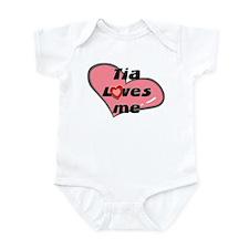 tia loves me  Infant Bodysuit