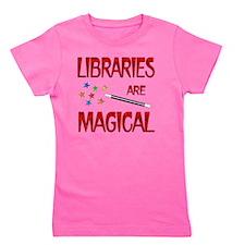 libraries Girl's Tee