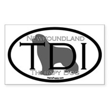 Newfoundland TDI Certification Stickers