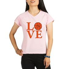 orange2, Basketball LOVE Performance Dry T-Shirt