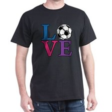 Multi, Soccer LOVE T-Shirt