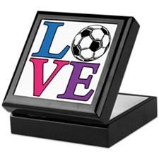 Multi, Soccer LOVE Keepsake Box