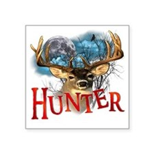 """Hunter take your best shot  Square Sticker 3"""" x 3"""""""