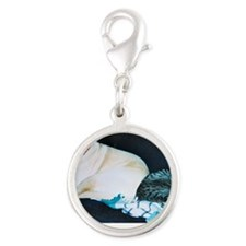 ThisPartyBlows Silver Round Charm
