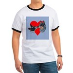Australian Cattle Dog Kiss Ringer T