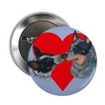 Australian Cattle Dog Kiss Button
