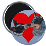 Australian Cattle Dog Kiss Magnet