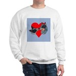 Australian Cattle Dog Kiss Sweatshirt