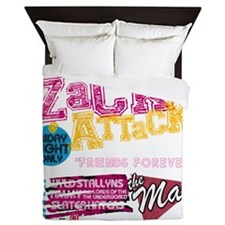 Zack_Attack_Shirt Queen Duvet