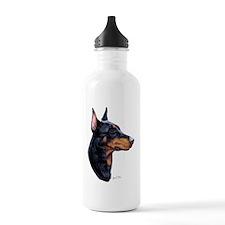 Dobermann dark Water Bottle