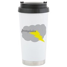Thunder and Lightning Ceramic Travel Mug