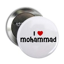 "I * Mohammad 2.25"" Button (10 pack)"