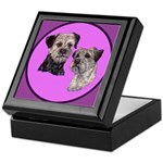 Border Terriers Keepsake Box