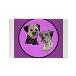 Border Terriers Rectangle Magnet (100 pack)