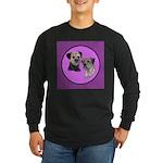 Border Terriers Long Sleeve Dark T-Shirt