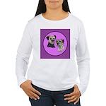Border Terriers Women's Long Sleeve T-Shirt