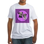 Border Terriers Fitted T-Shirt