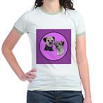 Border Terriers Jr. Ringer T-Shirt