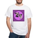 Border Terriers White T-Shirt