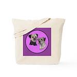 Border Terriers Tote Bag