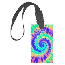 TieDyeColorful Large Luggage Tag
