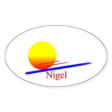 Nigel Oval Decal
